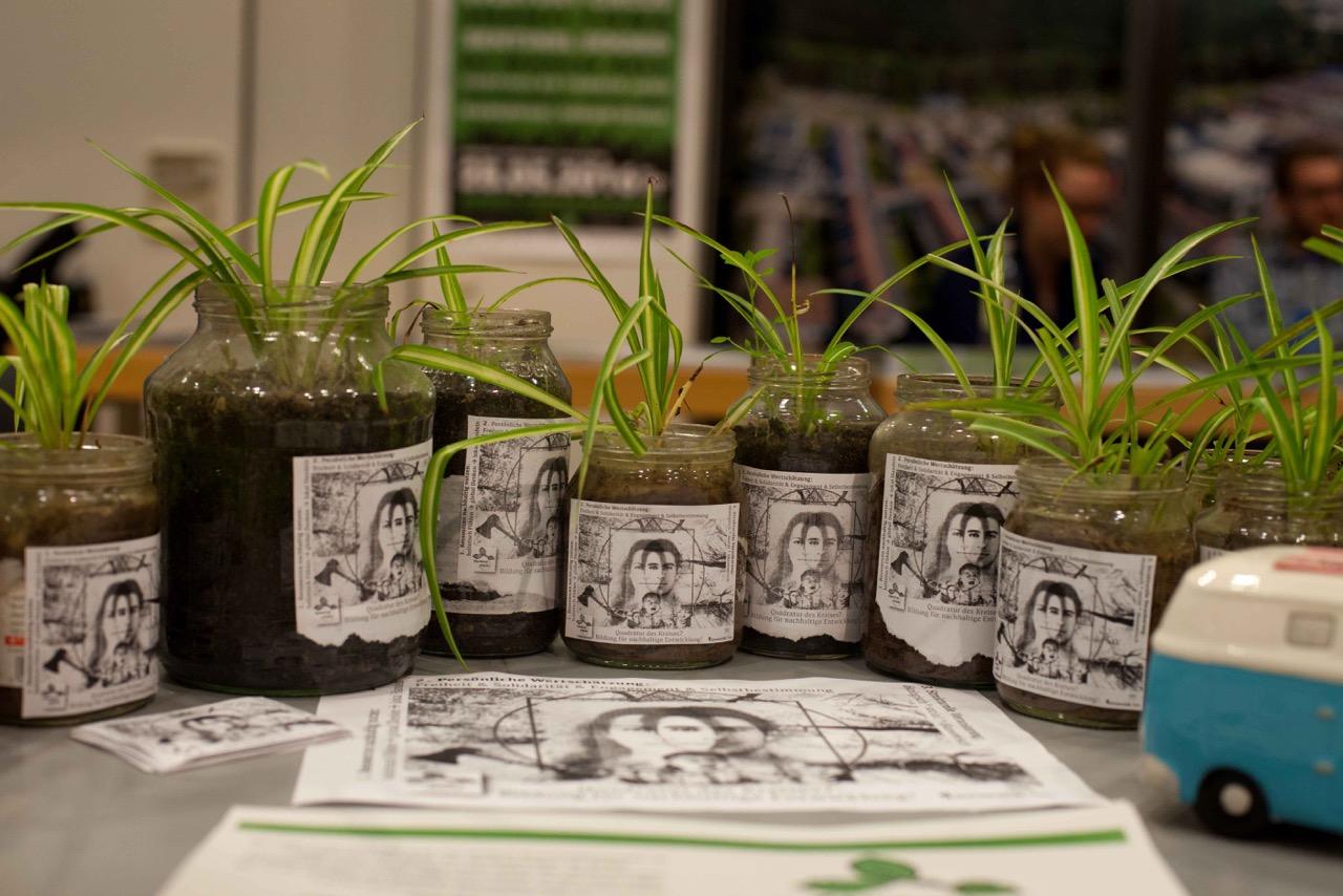 Pflanzen Infostand