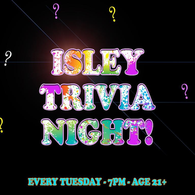 ISLEY TRIVIA NIGHT