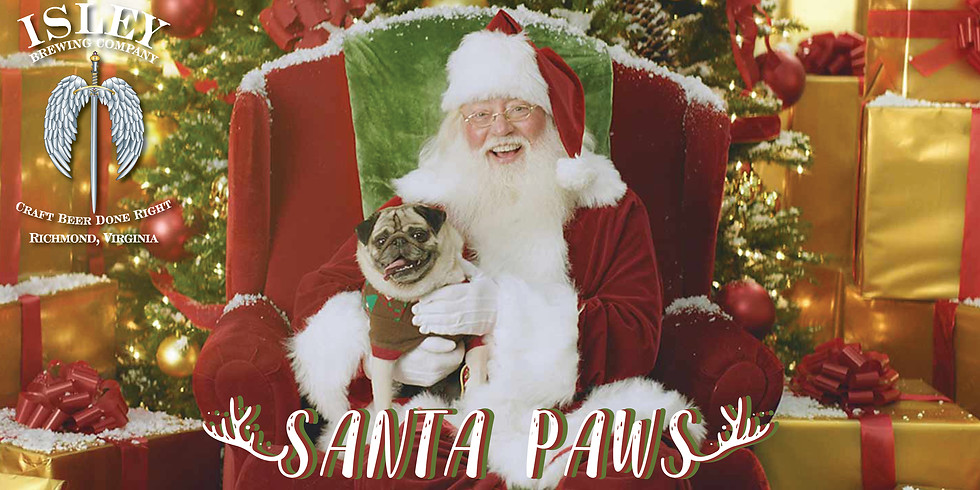 SANTA PAWS: Dog Pictures with Santa!