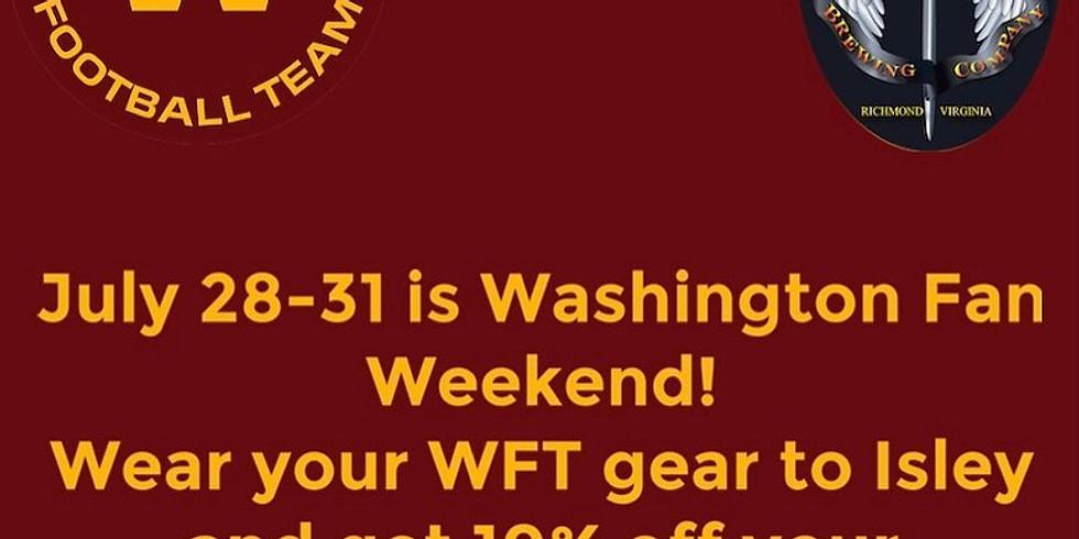 Washington Football Team Fan Weekend