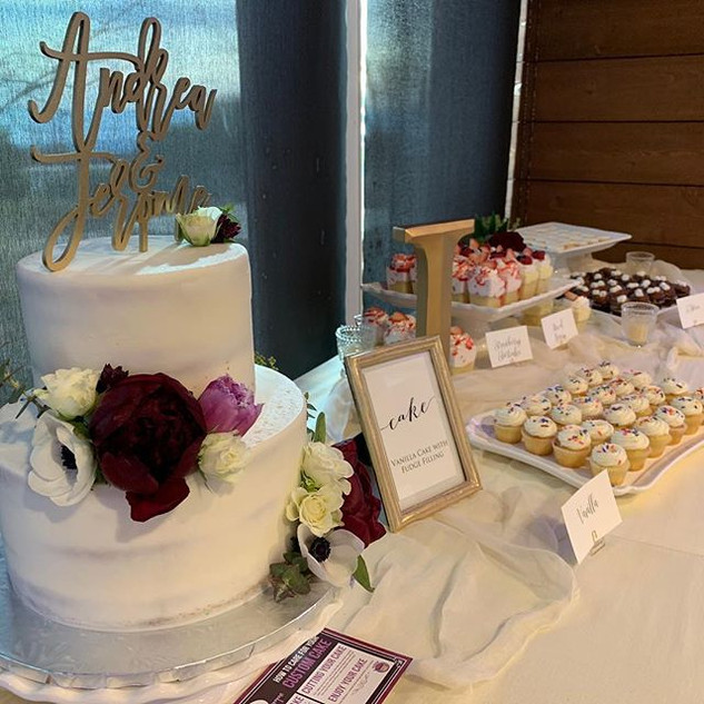 WE DO DESSERT TABLES.  CATERING FOR CORP