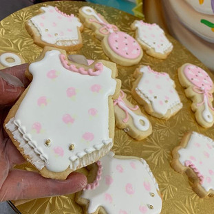 BABY GIRL COOKIES #eastbayeats #bayareac