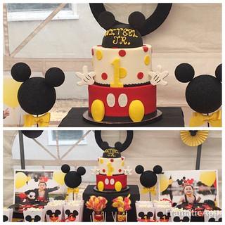 MICKEY MOUSE BIRTHDAY ❤️ #bayarea #thecu