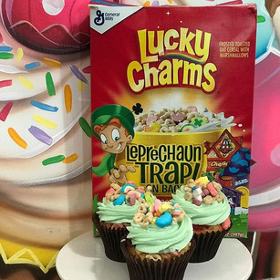 FLAVOR OF THE WEEK!!! LUCKY CHARMS.  ST.