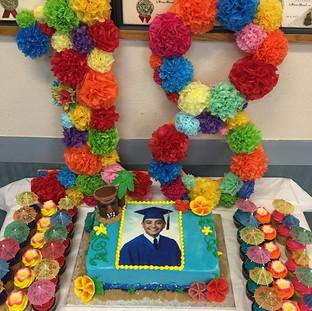 HAWAIIAN THEMED BIRTHDAY #birthdaycake#b