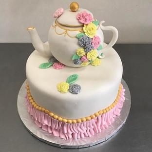 ✨Elegant Teapot Cake!✨ Teapot Is Made wi