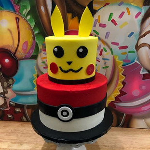 Super cool #Pokemon #cake place your cus