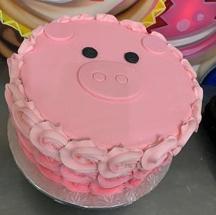 LITTLE PIGGY PARTY 🐷. LOVE THE TABLE SE