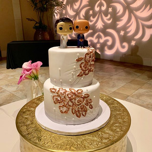 WEDDING CAKES _thecupcakeshoppeca #bayar