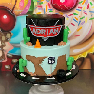 CARS CAKE! We love it! We are getting su