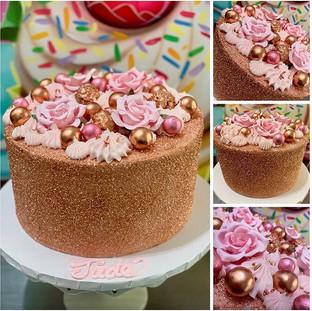 ROSE 🥀 GD BEAUTY #bayareacakes #thecupc
