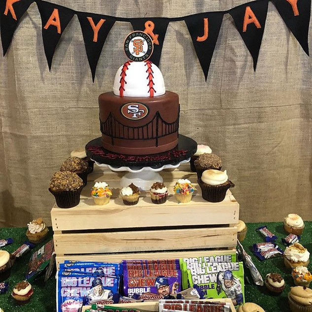 SAN FRANCISCO GIANTS CAKE. _sfgiants__fa