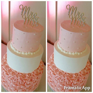 WEDDING CAKE #cakes #weddingcake #bayare