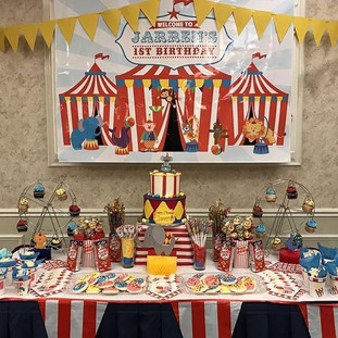 Circus theme🎪We love when customers sen