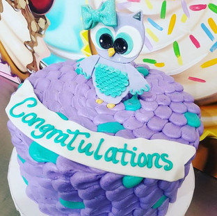 How cute is this Owl_ 🦉_#thecupcakeshop