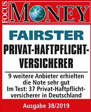 Fairster Privat Haftpflicht Versicherer.
