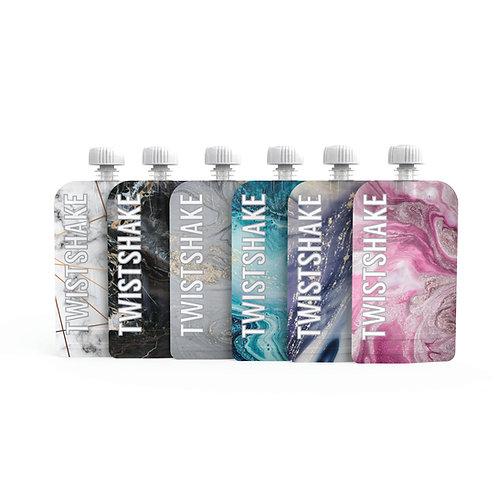 Squeeze Bag Twistshake x6 3,5oz Marble
