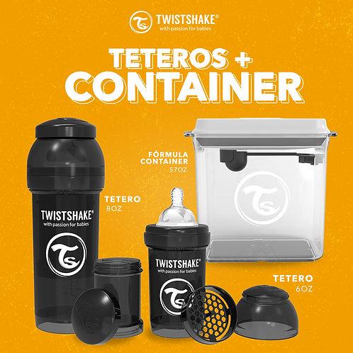 TETEROS + CONTAINER