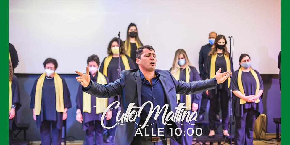 CULTO MATTINA - alle 10:00