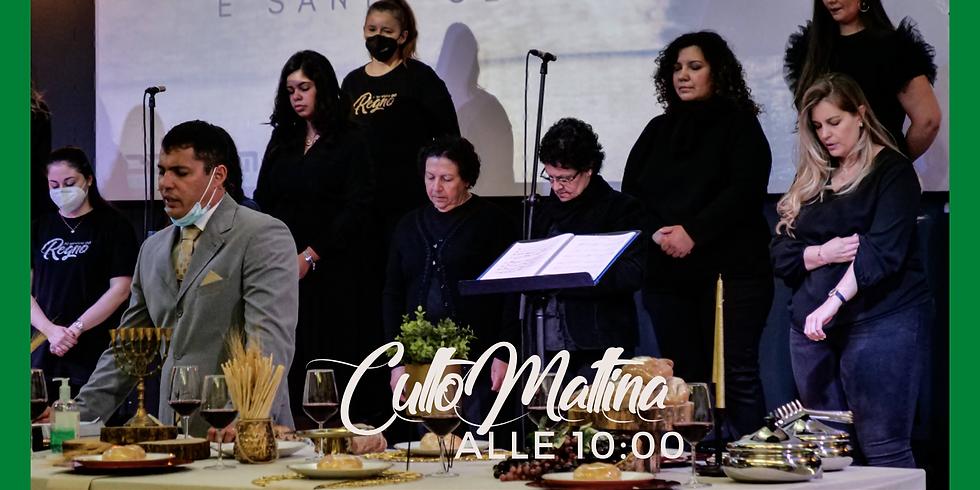 CULTO MATTINA (alle 10:00) - con la Santa Cena