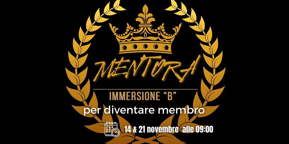 MENTORA - Immersione B