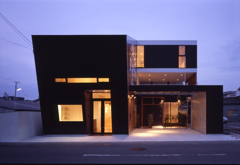 2008 相生町の写真スタジオ+2世帯住宅02
