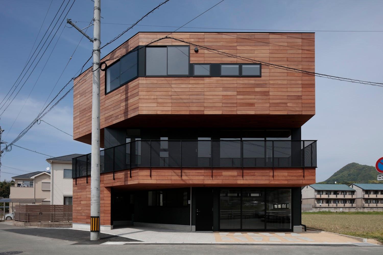 2017 唐原の事務所併用住宅