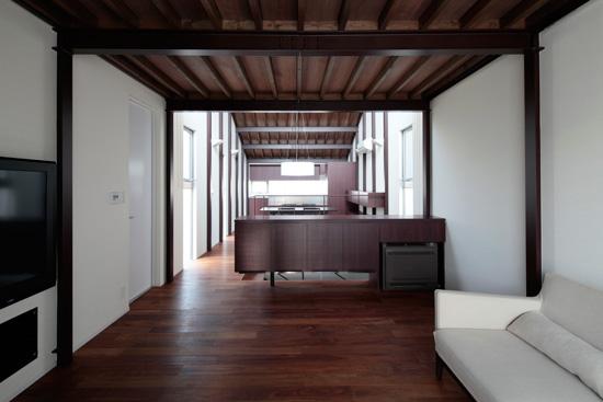 2011 WOOD × STEEL HOUSE恵比寿の住宅05