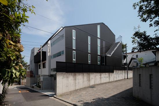 2011 WOOD × STEEL HOUSE恵比寿の住宅02