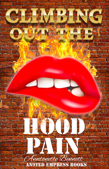 Climbing Out The Hood Pain Book Cover.jp