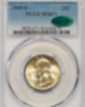 1945-S PCGS MS-67+ CAC 0789 FRONT COL.JP