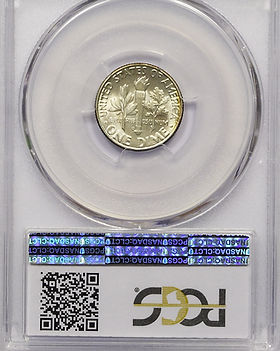 1947-D PCGS MS-67+ FB CAC QA 3335 BACK.J