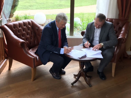 Signing Cooperation Agreement between IIFH and MEGU