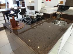 Cozinha Granito Marrom Imperial