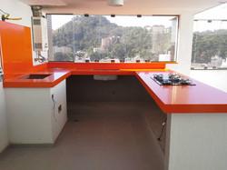 Quartzo Orange- Marmoraria sp