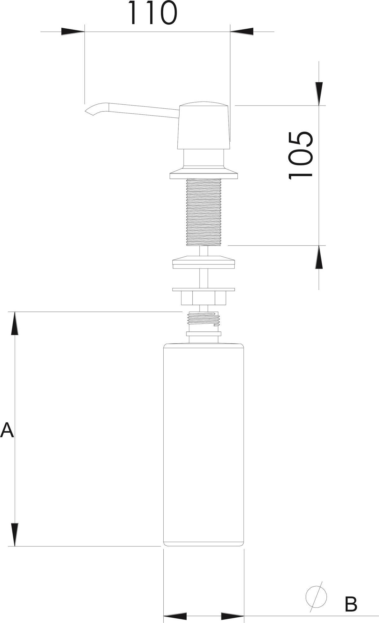 Desenho_tecnico_Dosador_de_detergente_líguido