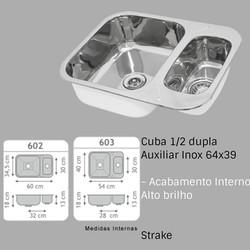 cuba dupla auxiliar franke