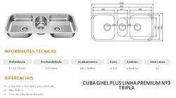 cuba ghel plus linha premium TRIPLA