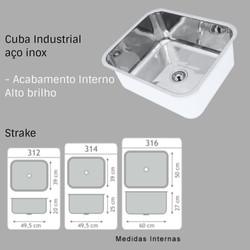 cuba industrial para restaurantes padarias comercio bares laboratorio lanchonete hospital