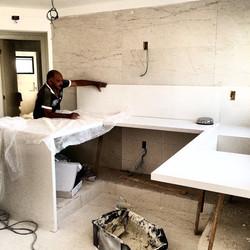 Cozinha Quarto Branco