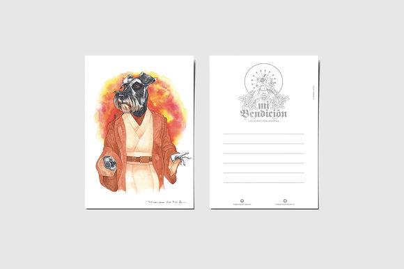 Schnauzer Obi-Wan Kenobi