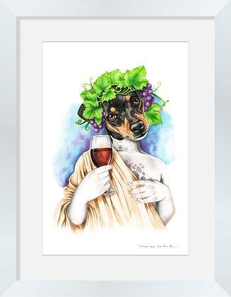 Fox Terrier Dios del Vino
