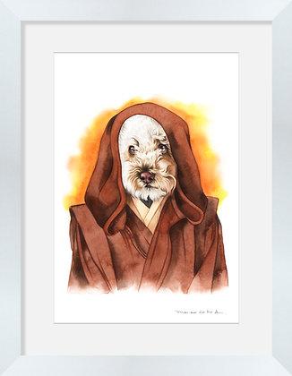 Poodle Obi-Wan Kenobi
