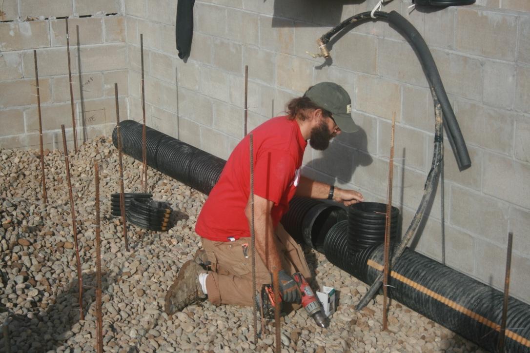 Installing the Air Circulation Tube