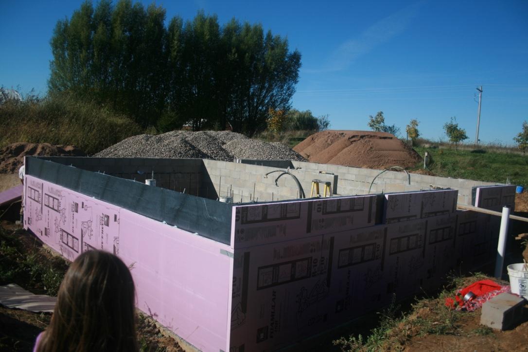 Insulation on Foundation
