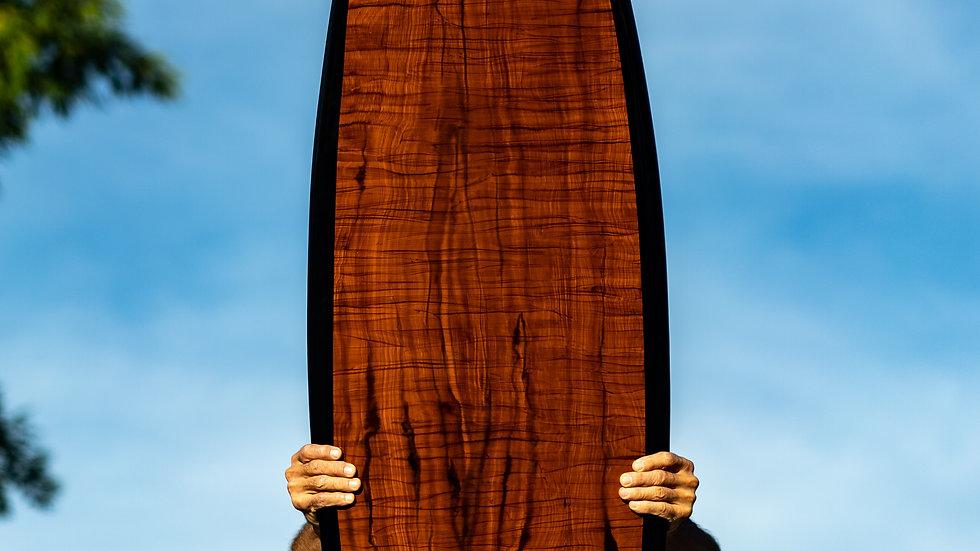 Hand Painted Woodgrain (Redwood)