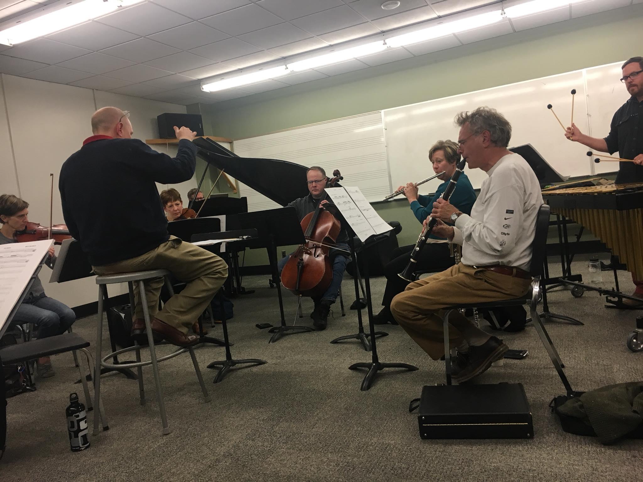 Flageolet rehearsing Reiprich