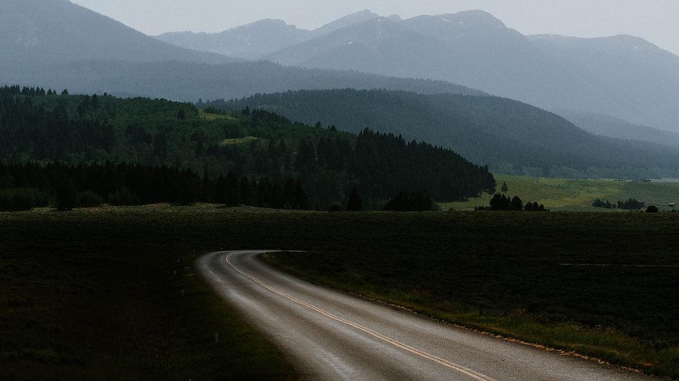 Long Road Original Photo Print