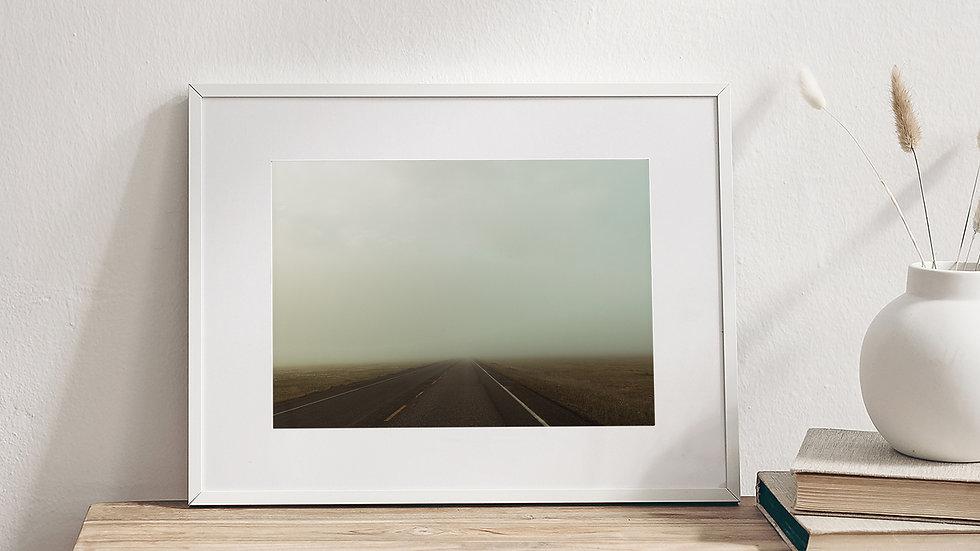 Nowhere Road Original Photography Print
