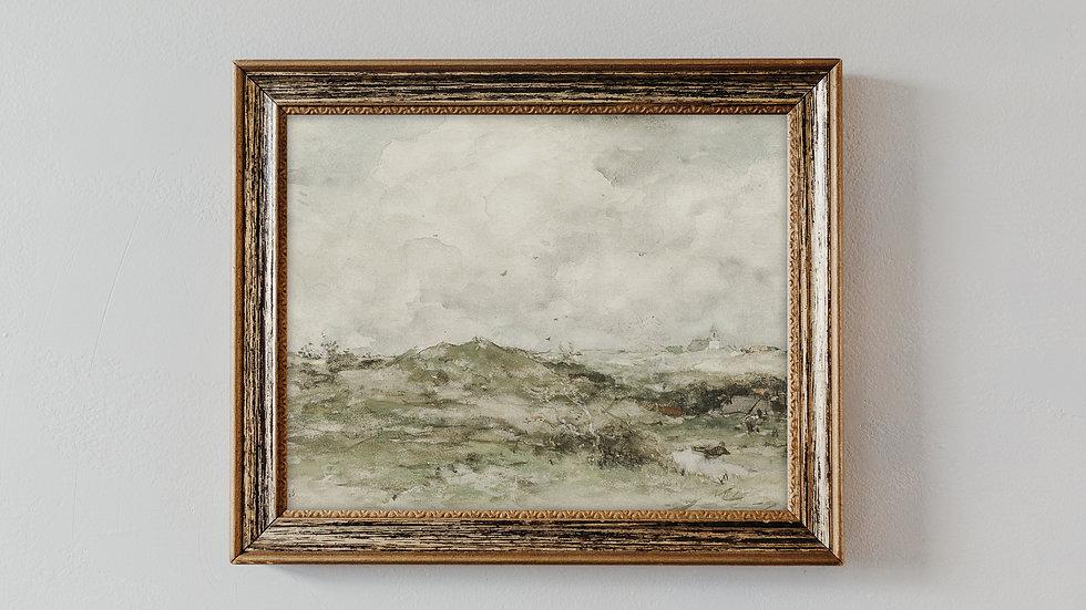 Chalky Landscape Fine Art Print